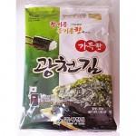Ким жаренный соленый с кунжутным маслом 30г 조미김(전장)