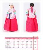 Ханбок на девочку 8 лет 125-133 рост