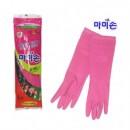 Перчатки резиновые L 고무장갑 L중