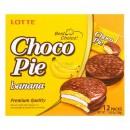 Банановый чокопай 12шт 초코파이 바나나