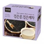 Чай з чорних бобів та чорного кунжуту 녹차원 검은콩 검은깨차