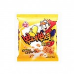 Рамьон-снек зі смаком токпоккі 90г 뿌셔뿌셔 떡볶이 맛