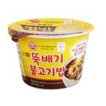 Рис із соусом Булькогі 320г 오뚜기 뚝배기 불고기밥