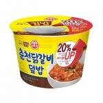 Рис з куркою гострий 310г 오뚜기 춘천닭갈비 덮밥