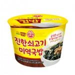 Суп Мійок з рисом 314г 오뚜기 진한쇠고기 미역국밥