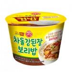 Рис із Твенджан та яловичиною 310г 오뚜기 차돌강되잔 보리밥