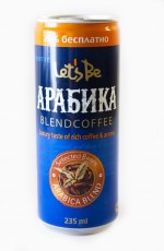 Let's Be Arabica 235ml