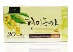 Зеленый чай с коричневым рисом 1,5г*20шт 현미녹차 (티백)