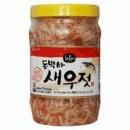 Соленый креветочный соус Salted Shrimp 새우젓 0,5кг.